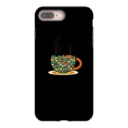 Coffee Cup Iphone 8 Plus Case Designed By Chiks