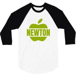 isaac newton 3/4 Sleeve Shirt   Artistshot