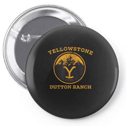 Yellowstone Pin-back Button Designed By Amber Petty