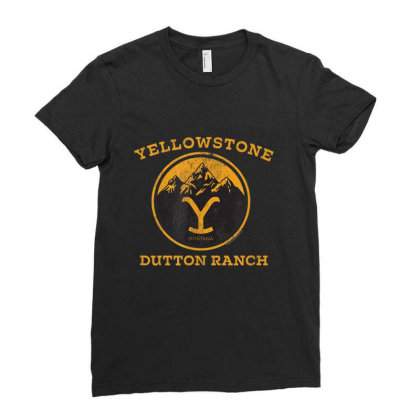 Yellowstone Ladies Fitted T-shirt Designed By Amber Petty