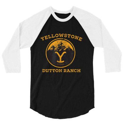Yellowstone 3/4 Sleeve Shirt Designed By Amber Petty