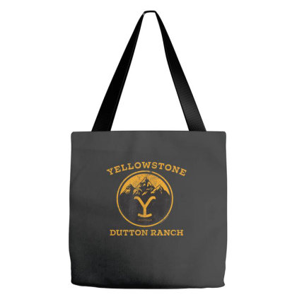 Yellowstone Tote Bags Designed By Amber Petty
