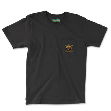 Yellowstone Pocket T-shirt Designed By Amber Petty