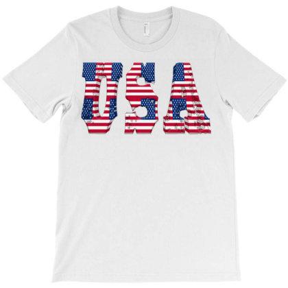 Usa T-shirt Designed By Dav