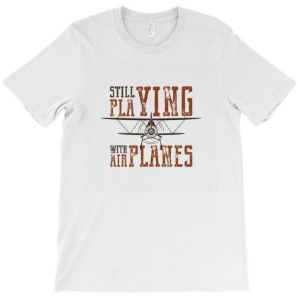 Plane T-shirt Designed By Disgus_thing