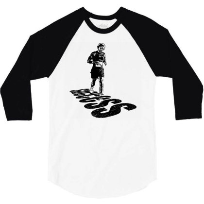 Jogging 3/4 Sleeve Shirt Designed By Graphicganga