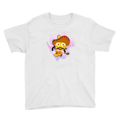 Emoji Music Vector Art Youth Tee Designed By Chiks