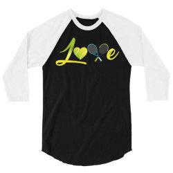 love tennis 3/4 Sleeve Shirt | Artistshot