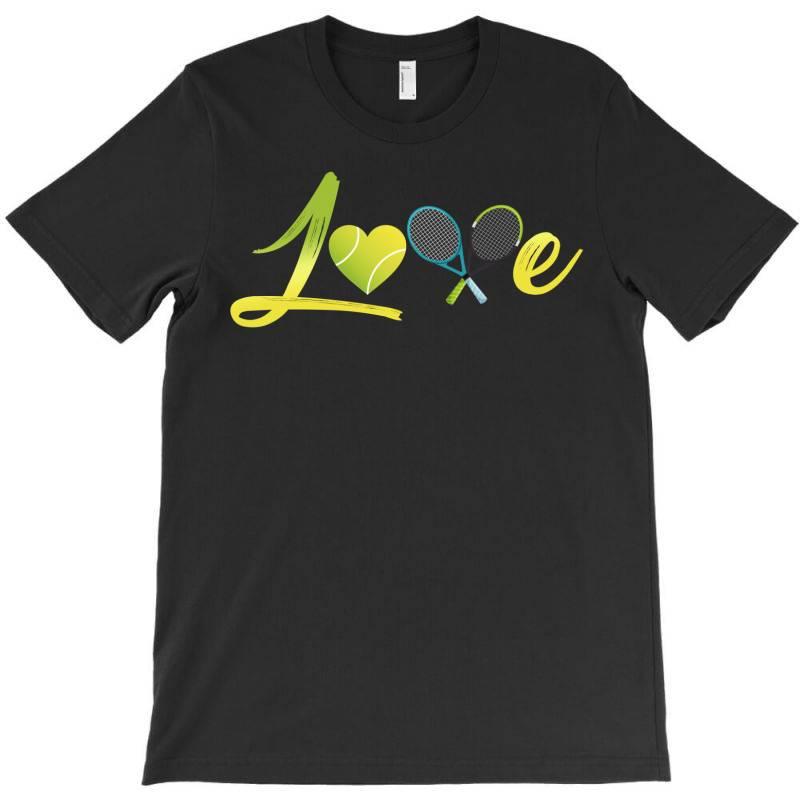 Love Tennis T-shirt | Artistshot