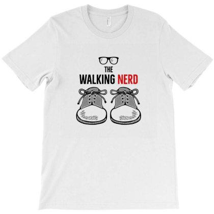 Walking Nerd T-shirt Designed By Disgus_thing