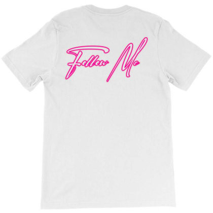 Follow Me Copy T-shirt Designed By Aman21