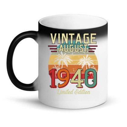 Vintage August 1940 Limited Edition Magic Mug Designed By Badaudesign