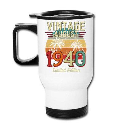 Vintage August 1940 Limited Edition Travel Mug Designed By Badaudesign