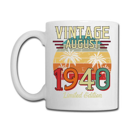 Vintage August 1940 Limited Edition Coffee Mug Designed By Badaudesign
