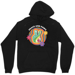 peace and paws Unisex Hoodie | Artistshot
