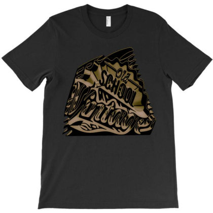Old School T-shirt Designed By Dav