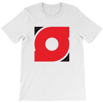 Square Rounded T-shirt Designed By Amiirnurdani