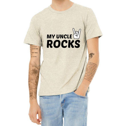 Uncle Rocks Heather T-shirt Designed By Perfect Designers