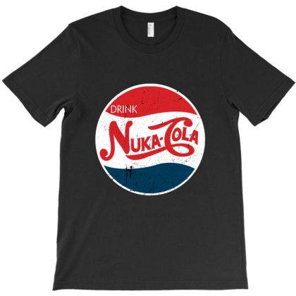 Drink Nuka Cola T-shirt Designed By Cuser3979