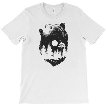 Bear T-shirt Designed By Disgus_thing