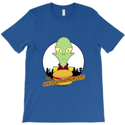 Precious Hamburgers T-shirt Designed By Cuser3979