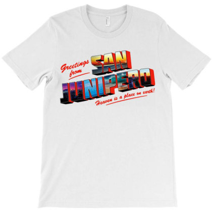Heaven Is Place On Earth T-shirt Designed By Jacqueline Tees