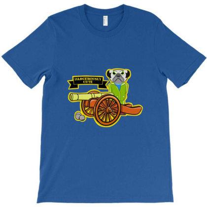 Pug Gun T-shirt Designed By Cuser3980