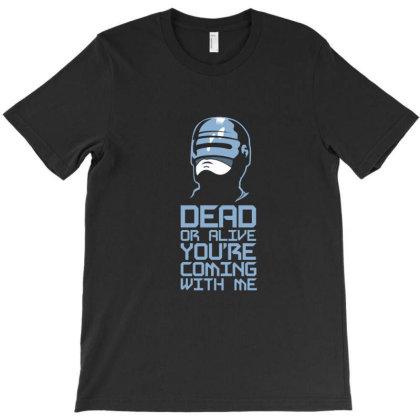 Robocop T-shirt Designed By Cuser3980
