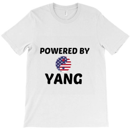 Yang Powered T-shirt Designed By Perfect Designers