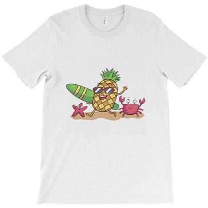 Pineapple Sunglasses T-shirt Designed By Cuser3978