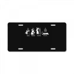 aikido License Plate   Artistshot