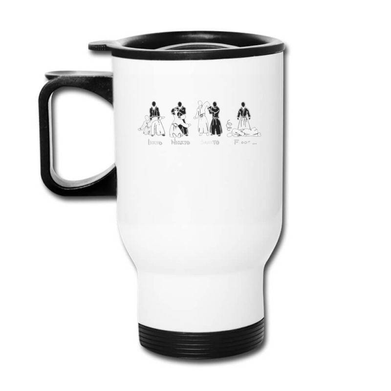 Aikido Travel Mug | Artistshot