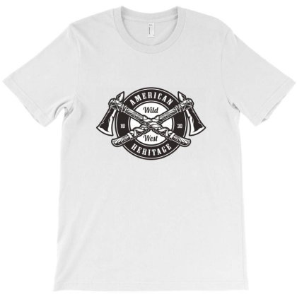 American Wild West Heritage T-shirt Designed By Estore