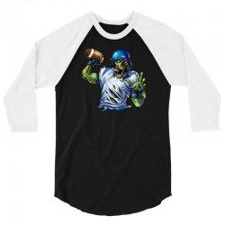 SPORTS ZOMBIE 3/4 Sleeve Shirt | Artistshot