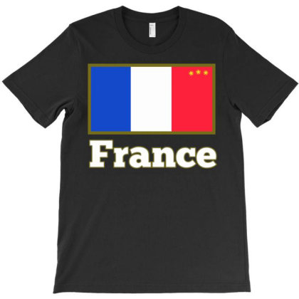France  T-shirt Designed By Dav