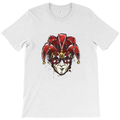 Venetian Mask T-shirt Designed By Cuser3967