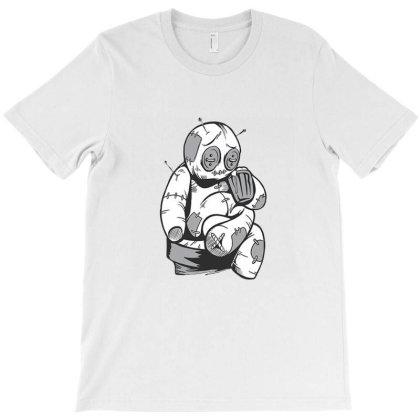 Voodoo Doll Drinking Beer T-shirt Designed By Cuser3967