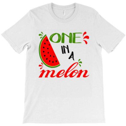 One In A Melon Watermelon Day Farm 2020 T-shirt Designed By Faical