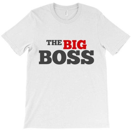 Boss Man Husband Boyfriend T-shirt Designed By Designisfun