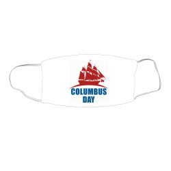 Columbus Day Face Mask Rectangle Designed By Estore