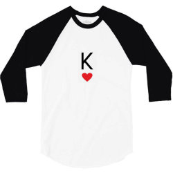 king husband boyfriend 3/4 Sleeve Shirt | Artistshot