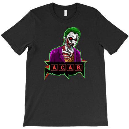 Acab T-shirt Designed By Dav