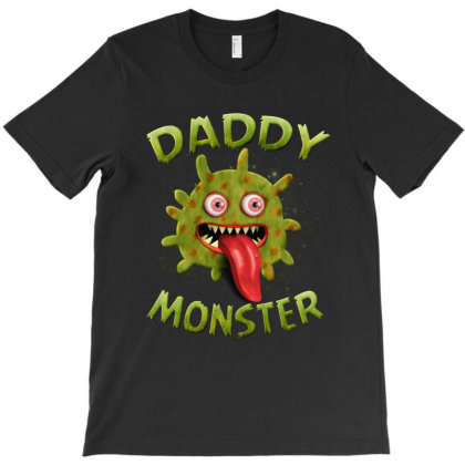 Daddy Monster Matching Family Halloween Costumes T-shirt Designed By Love Shiga