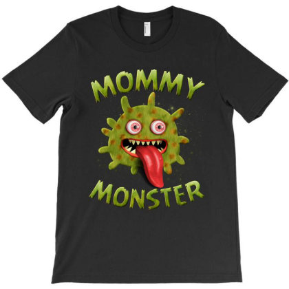 Mommy Monster Matching Family Halloween Costumes T-shirt Designed By Love Shiga