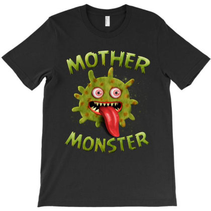 Mother Monster Matching Family Halloween Costumes T-shirt Designed By Love Shiga