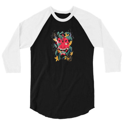 Hiphop 3/4 Sleeve Shirt Designed By Disgus_thing