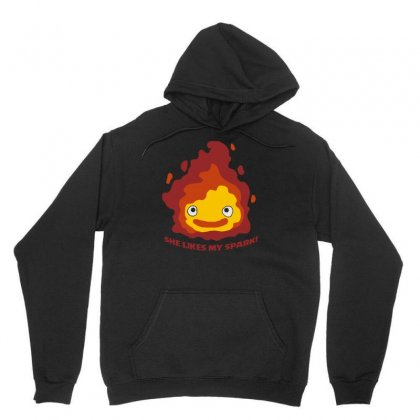 She Likes My Spark Unisex Hoodie Designed By Denz