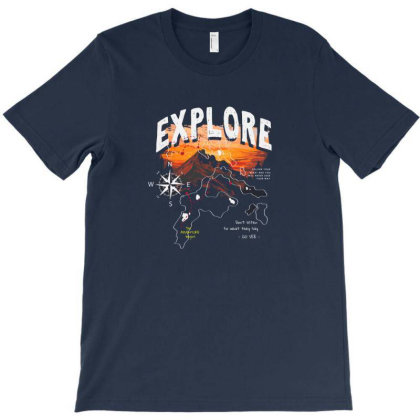 Explore T-shirt Designed By Disgus_thing