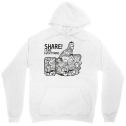 like social media share Unisex Hoodie | Artistshot