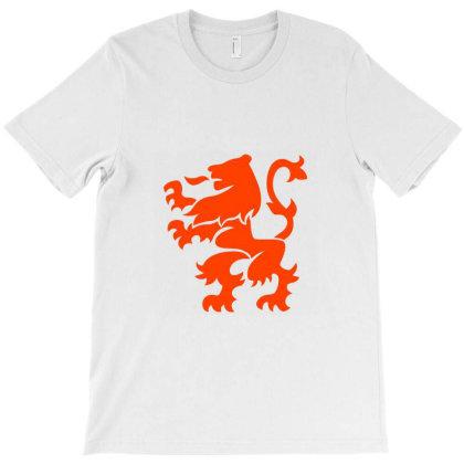 Dutch Lion Coat Of Arms T-shirt Designed By Artkoncept